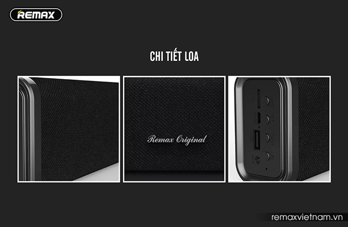 Chi tiết loa bluetooth Remax RB - M33