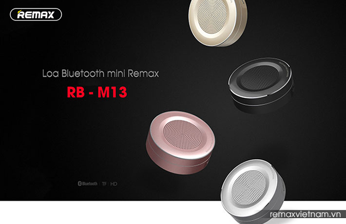 Loa Bluetooth mini Remax RB-M13 1