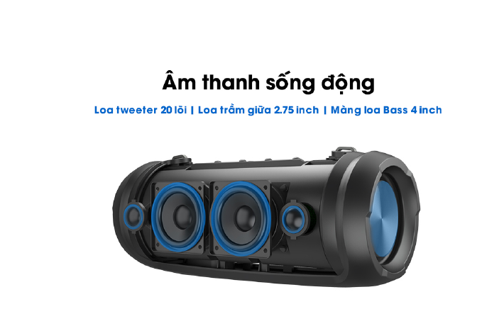 Loa Bluetooth W-King D3 Pro 3
