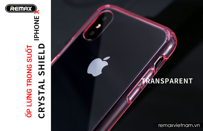 Ốp lưng trong suốt iPhone X Remax RM - 1651 1