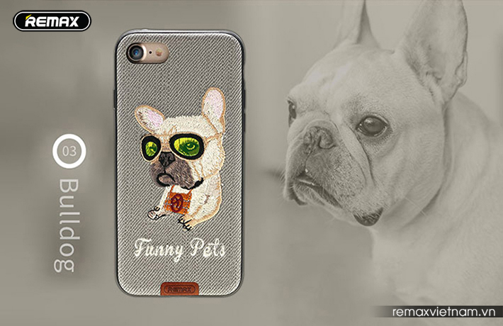 Ốp lưng Funny Pet iPhone 7 Plus Remax RM - 1647 6