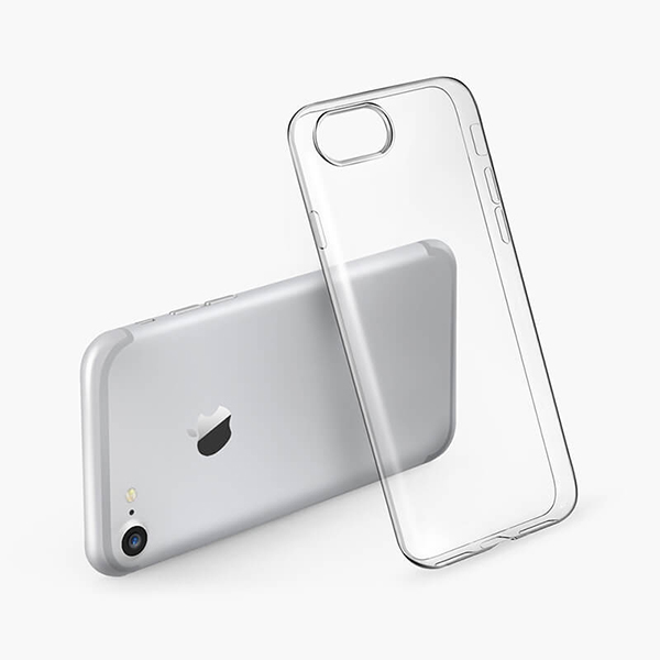 Ốp lưng silicon trong suốt iPhone 7