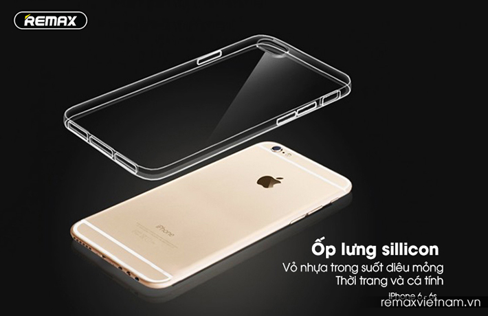 Ốp trong silicon trong suốt iPhone 6/6S 1