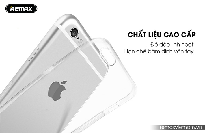 Ốp trong silicon trong suốt iPhone 6/6S 4