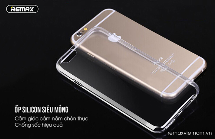 Ốp trong silicon trong suốt iPhone 6/6S 5