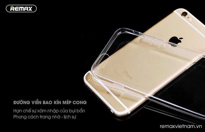 Ốp trong silicon trong suốt iPhone 6/6S 6