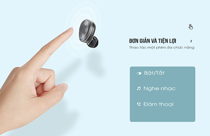 Tai nghe True Wireless Remax TWS-21 4