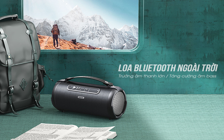 Loa Bluetooth du lịch Remax RB-M43