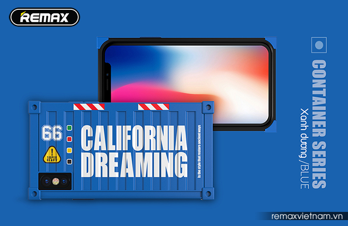 Ốp lưng Container cho iPhone X Remax RM-1657 10