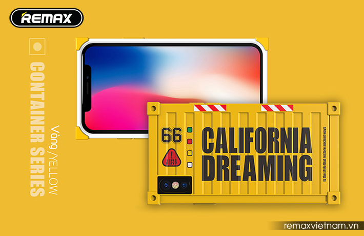 Ốp lưng Container cho iPhone X Remax RM-1657 11