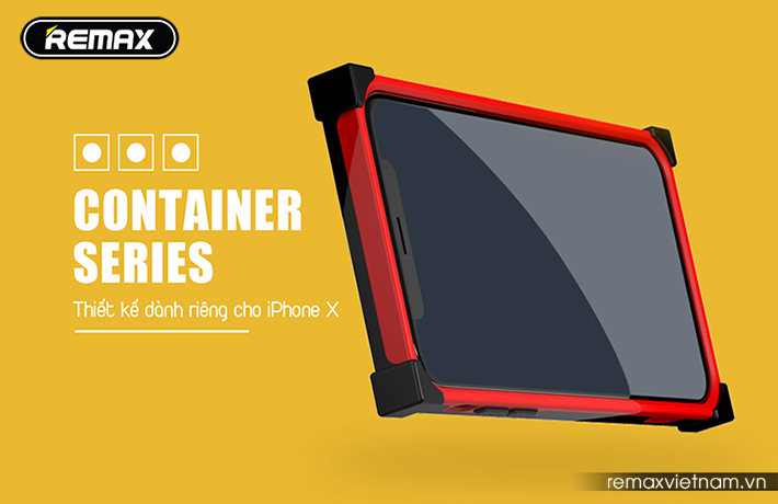 Ốp lưng Container cho iPhone X Remax RM-1657 2