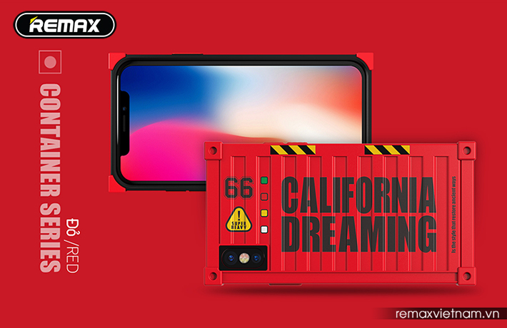 Ốp lưng Container cho iPhone X Remax RM-1657 7
