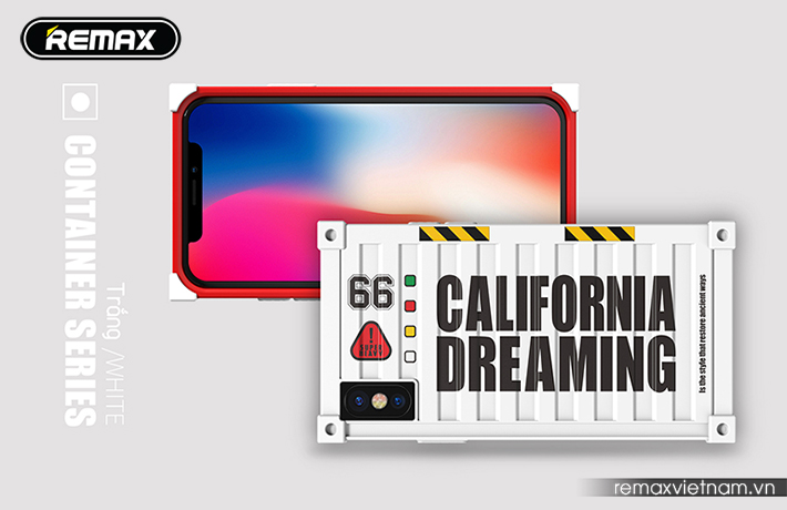 Ốp lưng Container cho iPhone X Remax RM-1657 9