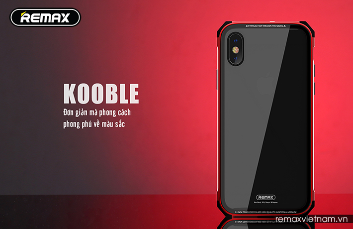 Ốp lưng Kooble cho iPhone X Remax RM-1658 5