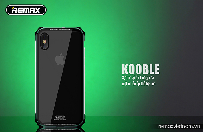 Ốp lưng Kooble cho iPhone X Remax RM-1658 6