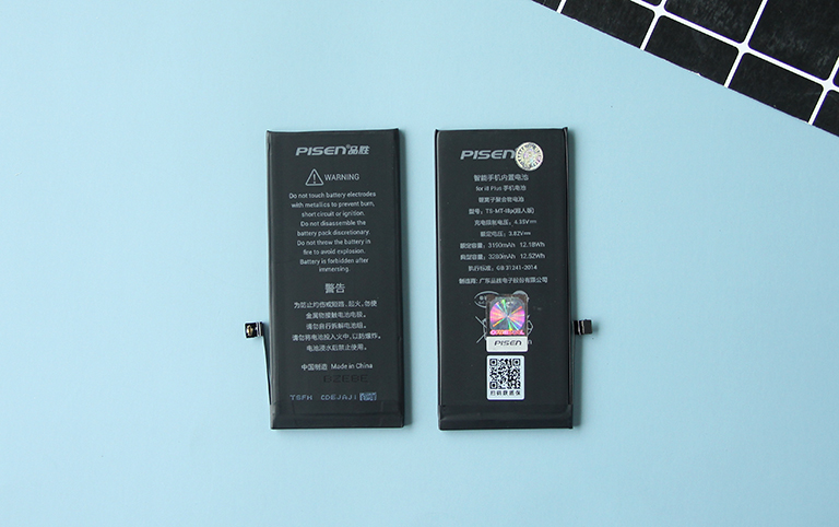 Thay pin iPhone 8 Plus Pisen dung lượng cao 5