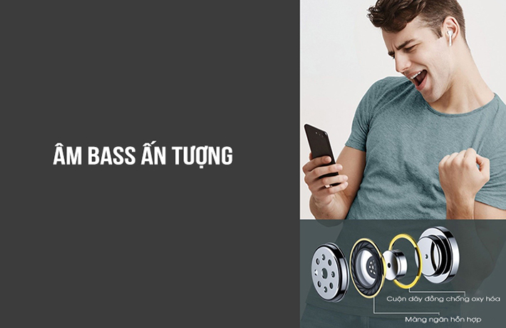 Tai nghe True Wireless Baseus W07 4