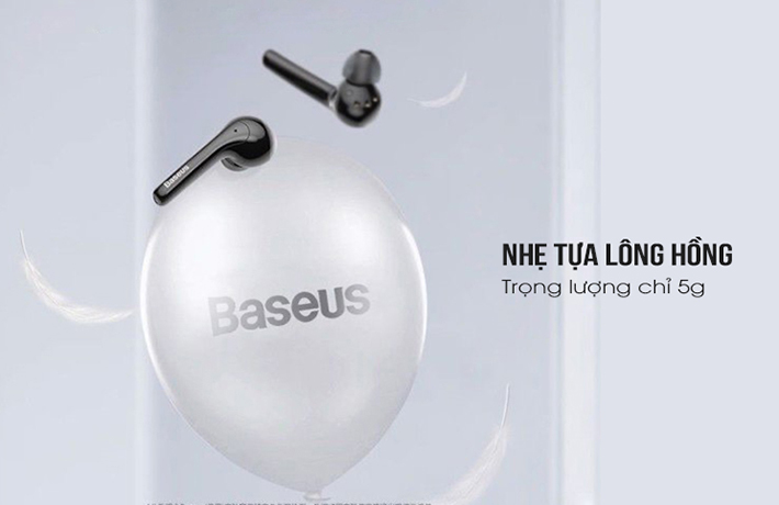 Tai nghe True Wireless Baseus W07 2