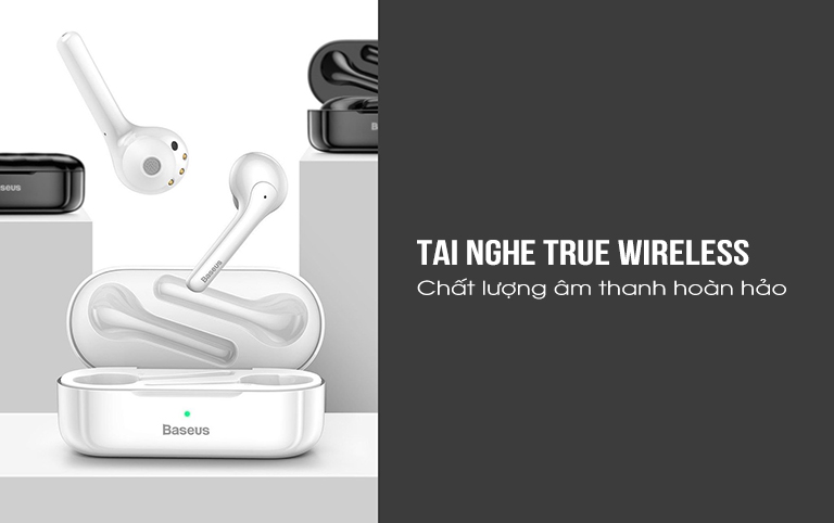 Tai nghe True Wireless Baseus W07 1