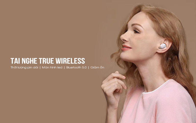 Tai nghe True Wireless Baseus WM01 Plus