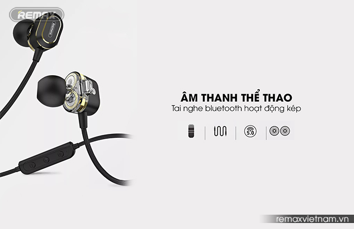 tai nghe thể thao bluetooth Remax RB-S26