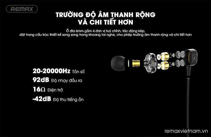 tai nghe thể thao bluetooth Remax RB-S26 bền bỉ