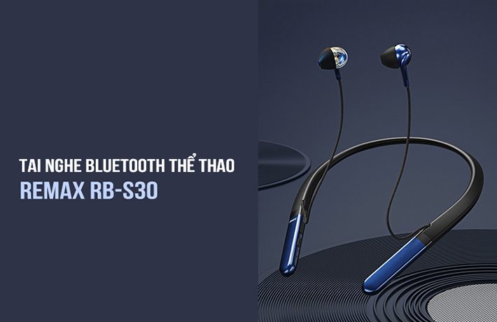 Tai nghe Bluetooth thể thao Remax RB-S30 1