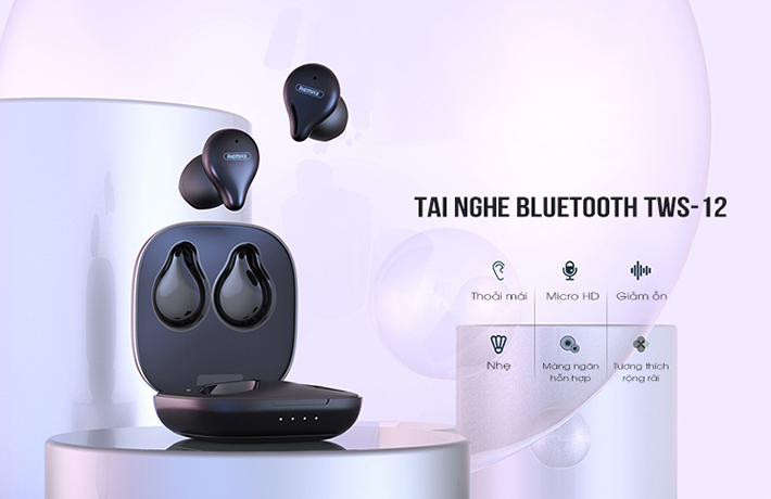 Tai nghe True Wireless Remax TWS-12 1