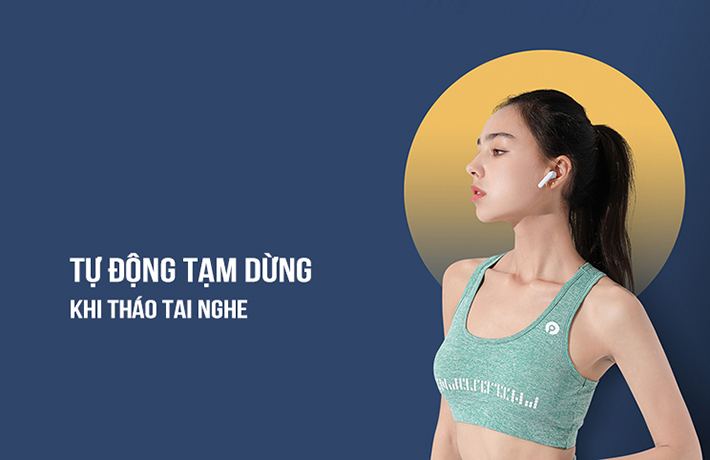 Tai nghe True Wireless Remax TWS-18 8