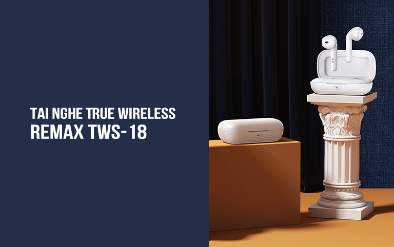 Tai nghe True Wireless Remax TWS-18 1