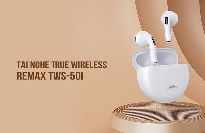 Tai nghe True Wireless Remax TWS-50i 1