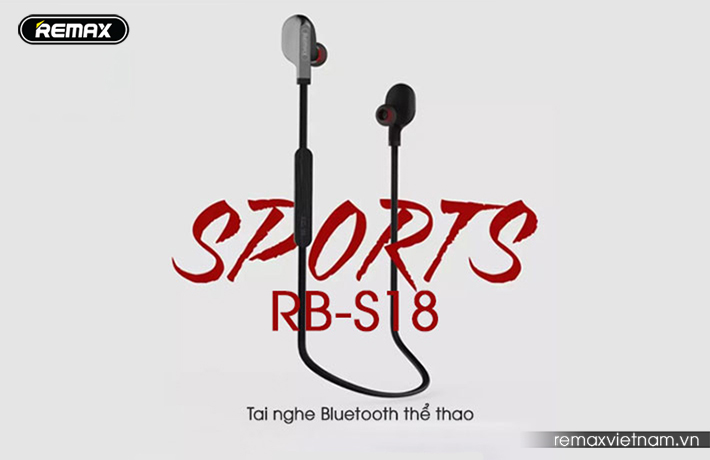tai nghe Bluetooth thể thao Remax RB-S18