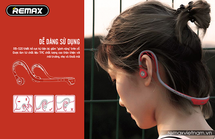 Tai nghe Bluetooth thể thao Remax RB-S20 4