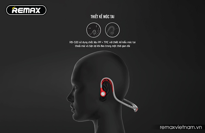Tai nghe Bluetooth thể thao Remax RB-S20 7