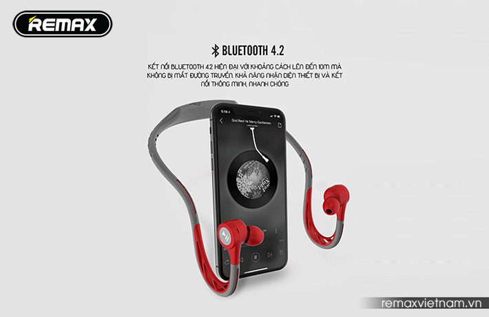 Tai nghe Bluetooth thể thao Remax RB-S20 9